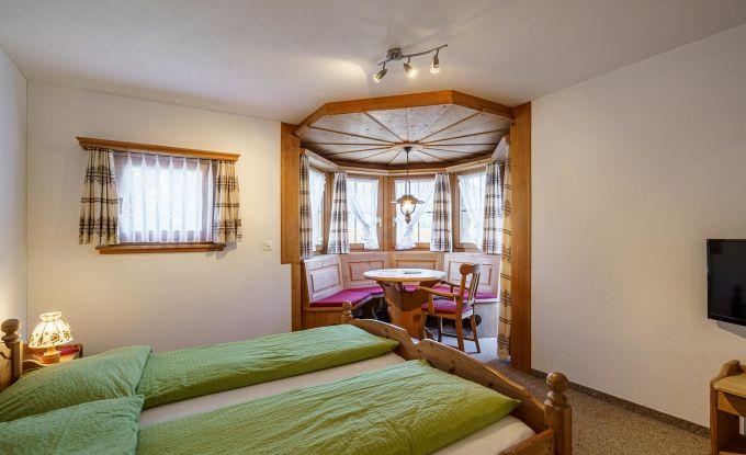 Doppelzimmer Balkon mit Erker