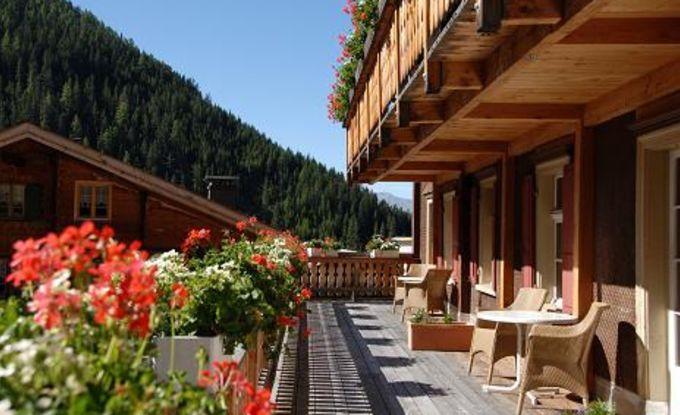 Balkon oder Terrass